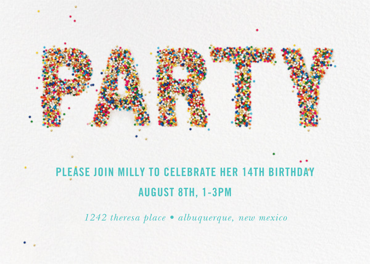 Party Sprinkles - kate spade new york - Kids' birthday