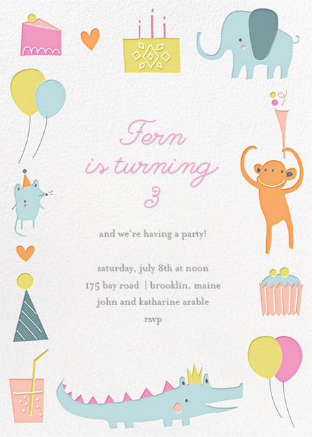 Sweet Treats for Allie - Little Cube - Kids' birthday