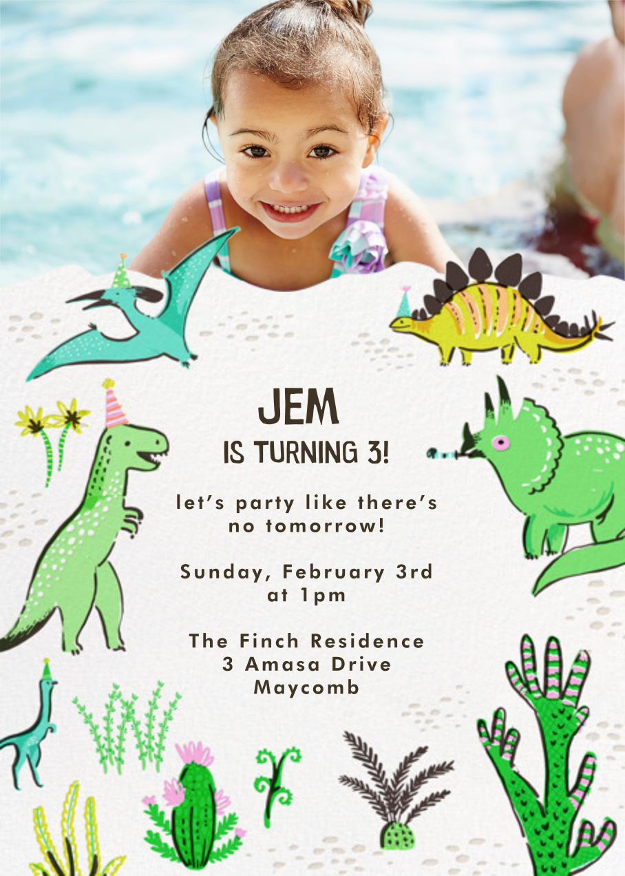Jurassic Party (Photo) - Hello!Lucky - Kids' birthday
