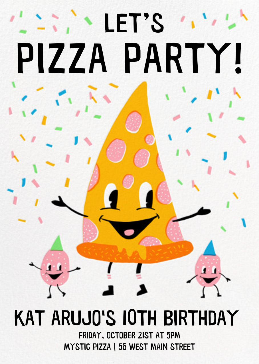 Pizza Party - Hello!Lucky - Kids' birthday