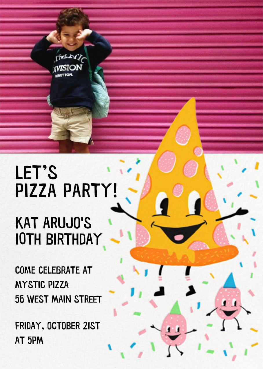 Pizza Party (Photo) - Hello!Lucky - Kids' birthday