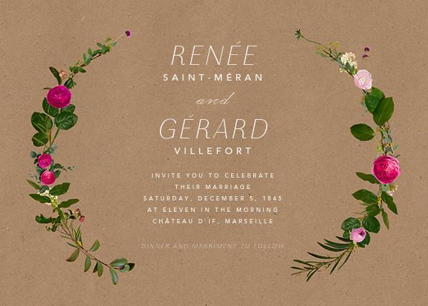 Belvoir (Invitation) - Chipboard - Paperless Post - All