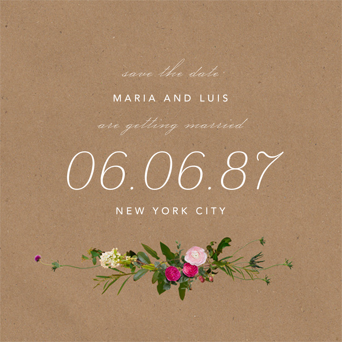 Belvoir (Save the Date) - Chipboard - Paperless Post - Save the date