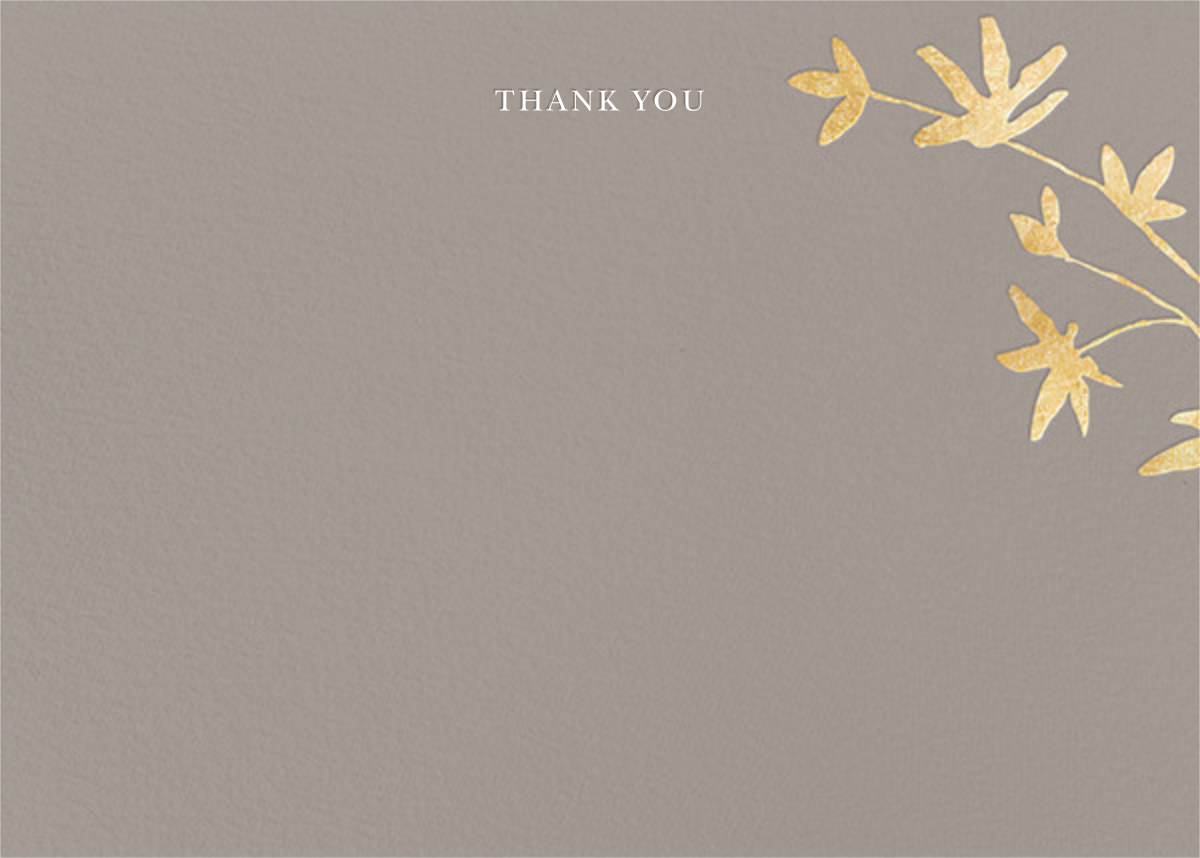Oliver Park II (Stationery) - Taupe/Gold - kate spade new york - General