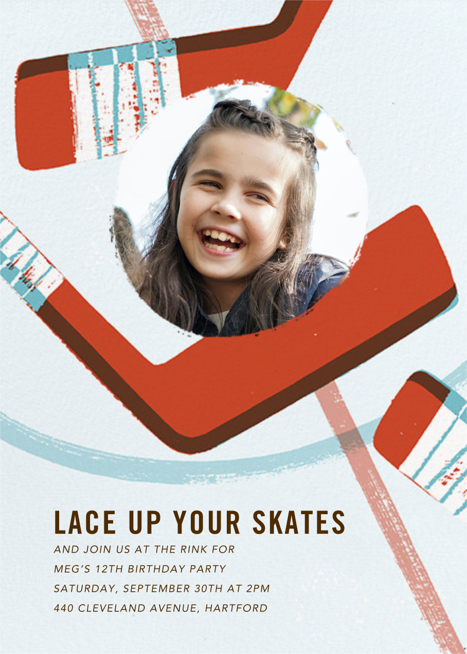 Party Puck (Photo) - Paperless Post - Kids' birthday