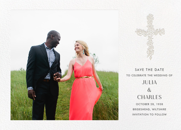 Thérèse II (Photo Save the Date) - White - Paperless Post - null