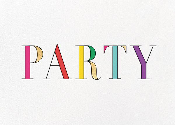Rainbow Party - kate spade new york - Adult birthday