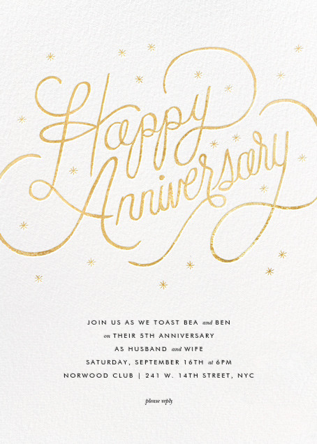 Starlit Anniversary - White - Rifle Paper Co.