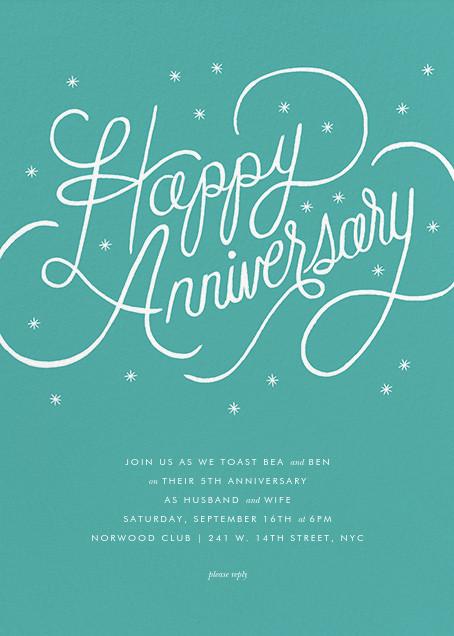 Starlit Anniversary - Green - Rifle Paper Co.