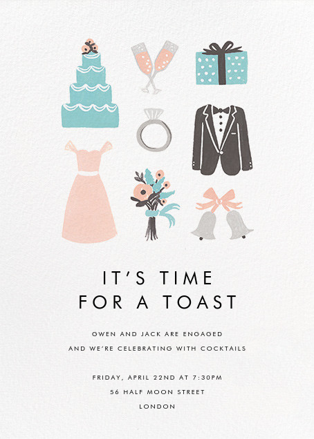 Wedding Essentials - Rifle Paper Co. - Engagement party
