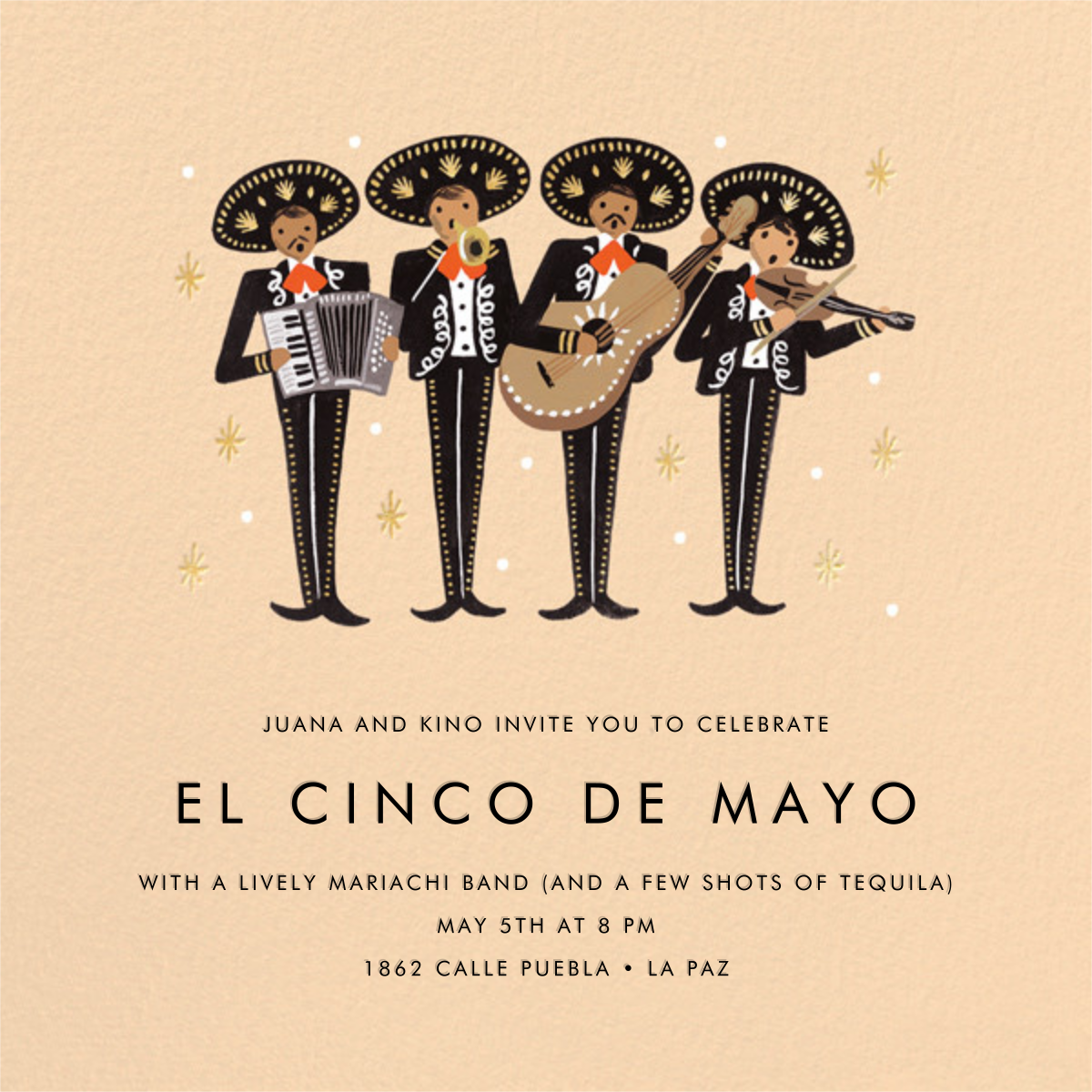 Mariachi - Rifle Paper Co. - Cinco de Mayo