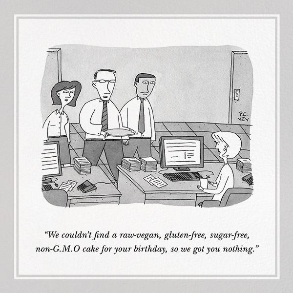 Cakeless - The New Yorker - Funny birthday eCards