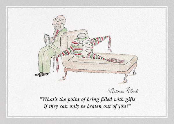 Piñata Anxiety - The New Yorker - Funny birthday eCards