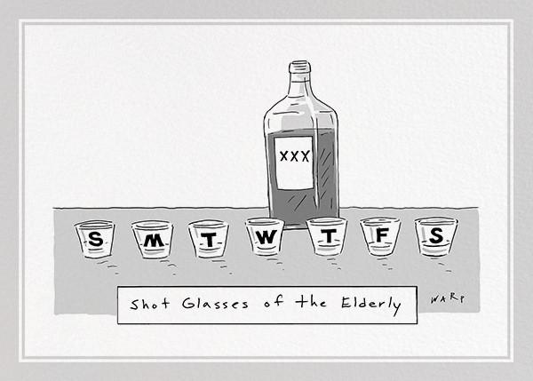 Prescription Drinks - The New Yorker - Funny birthday eCards