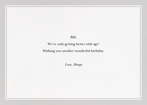 Prescription Drinks - The New Yorker - Funny birthday eCards - card back