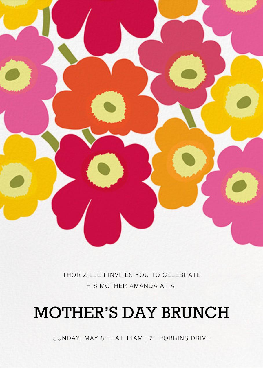 Unikko (Tall) - Pink Multi - Marimekko - Mother's Day