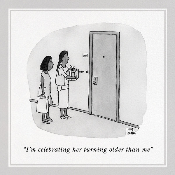 Older Than Me - The New Yorker - Funny birthday eCards