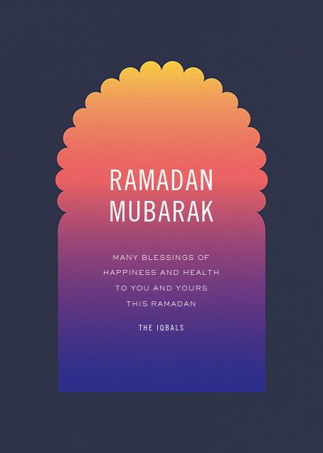Iftar (Greeting) - Paperless Post - Ramadan and Eid