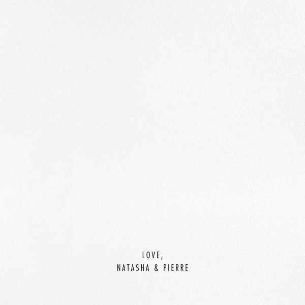 Evoke (Square Photo) - Rose Gold - Kelly Wearstler - Wedding - card back