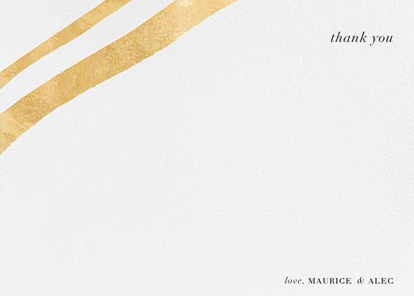 Cherish (Stationery) - Gold - Kelly Wearstler - Wedding