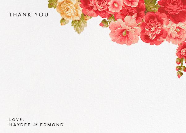 Garden Floral Ikat (Stationery) - Oscar de la Renta - Wedding