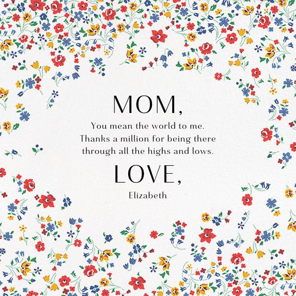 Kimberly Sarah - Liberty - Mother's Day