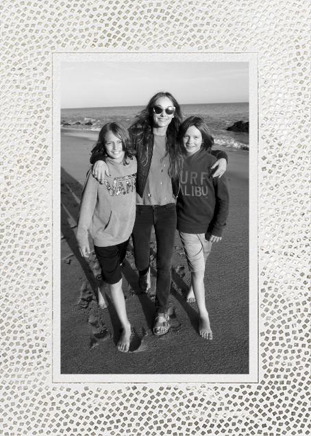Konfetti (Tall Photo) - Silver - Kelly Wearstler - Holiday cards