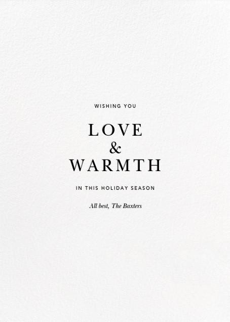 Konfetti (Tall Photo) - Silver - Kelly Wearstler - Holiday cards - card back