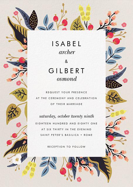 Egret Garden (Invitation) - Rifle Paper Co. - All