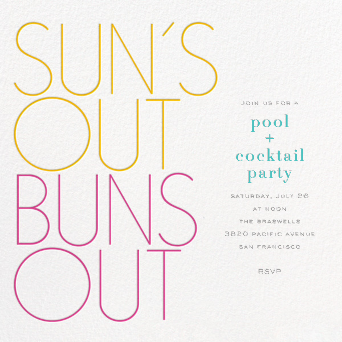 Sun's Out Buns Out - bluepoolroad - Picnic