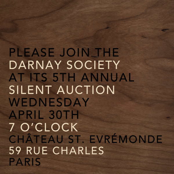 Wood Grain Dark (Square) - Paperless Post - Charity and fundraiser