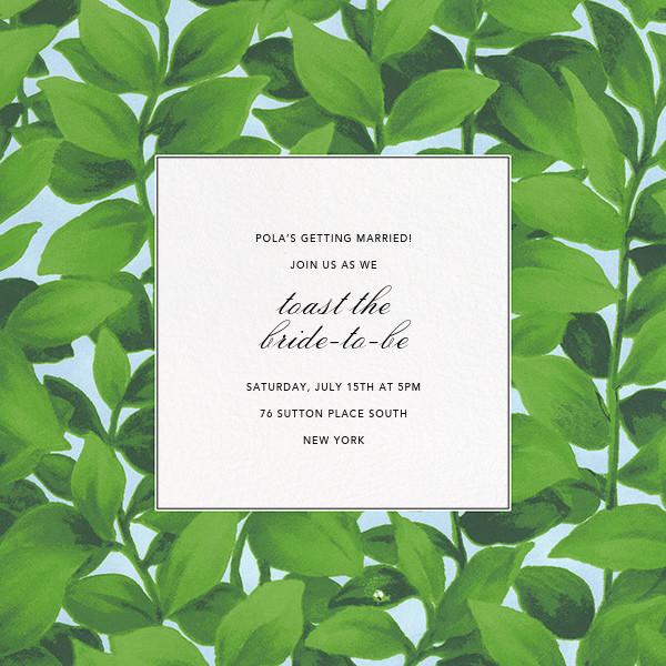 Hedge - Oscar de la Renta - Bridal shower