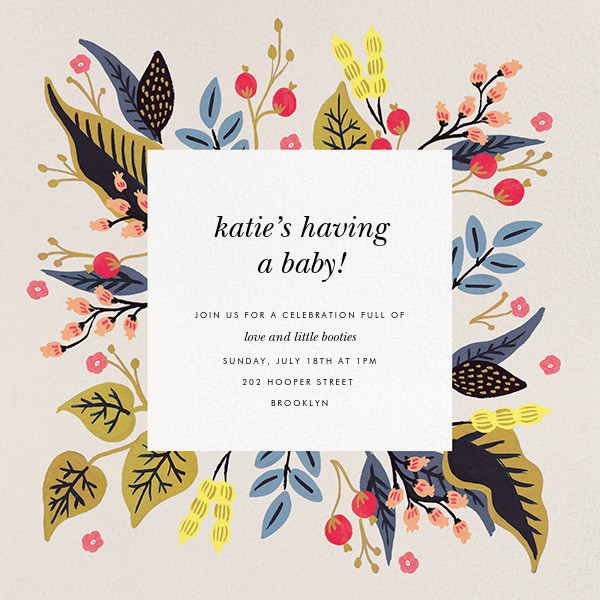 Egret Garden - Rifle Paper Co. - Baby shower