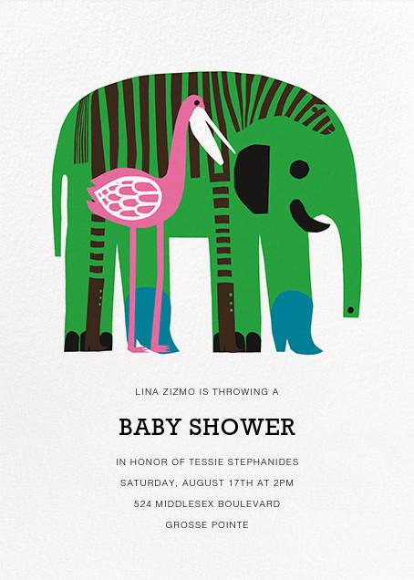 Karkuteilla - Green - Marimekko - Baby shower