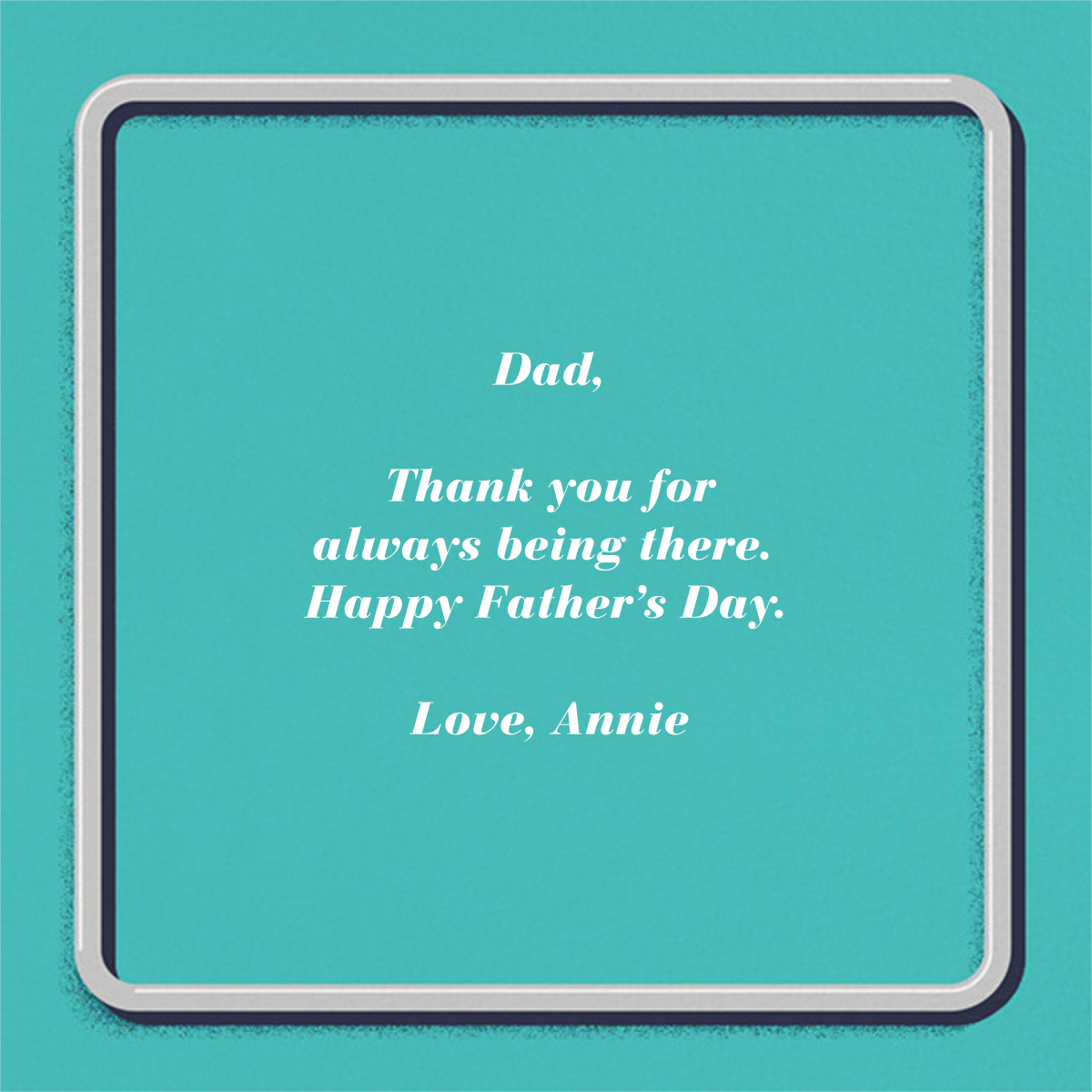 Dadmobile - Paperless Post - Father's Day - card back