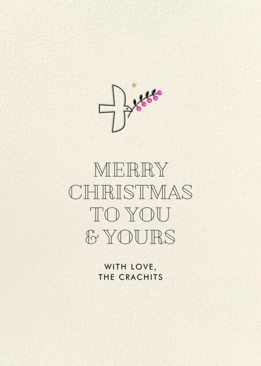 Deco Angel - Fair - Hello!Lucky - Christmas - card back
