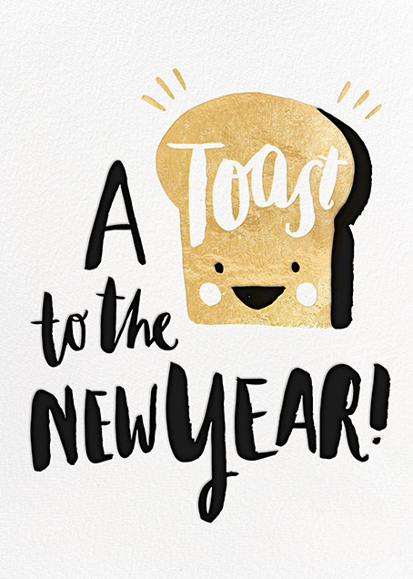 New Year's Toast (Greeting) - Hello!Lucky - New Year