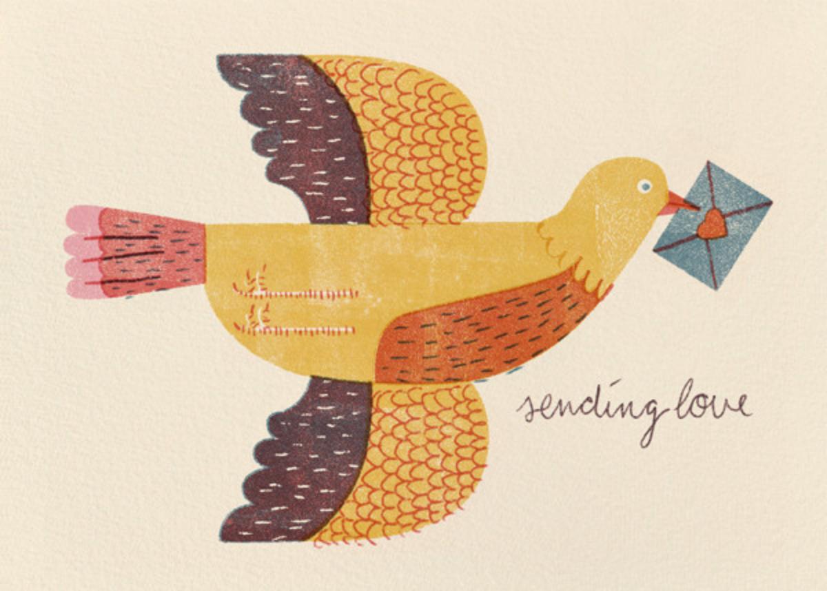 Mailbird (Barbara Dziadosz) - Red Cap Cards