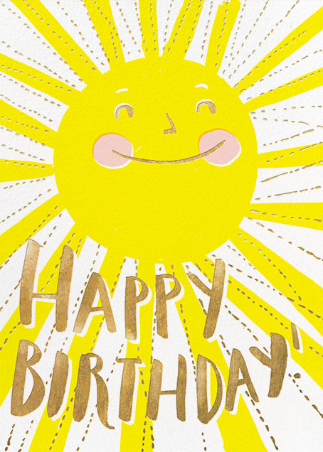 Sunny Birthday - Hello!Lucky - Summer Favorites