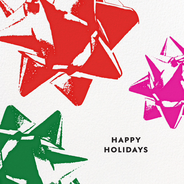 Bourgeois Bow - Multi - kate spade new york - Holiday cards