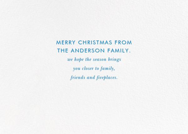 Christmas Baronial - kate spade new york - Christmas - card back