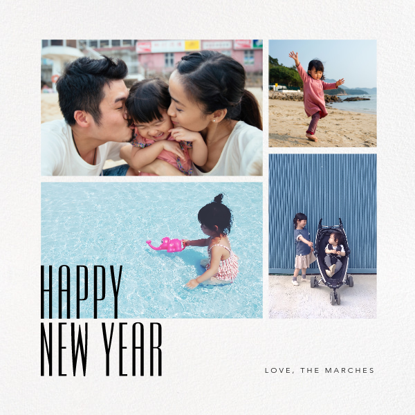 New Year Gallery (Square) - Paperless Post - New Year