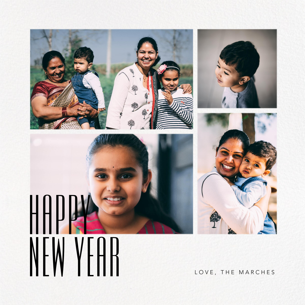 New Year Gallery (Square) - Paperless Post