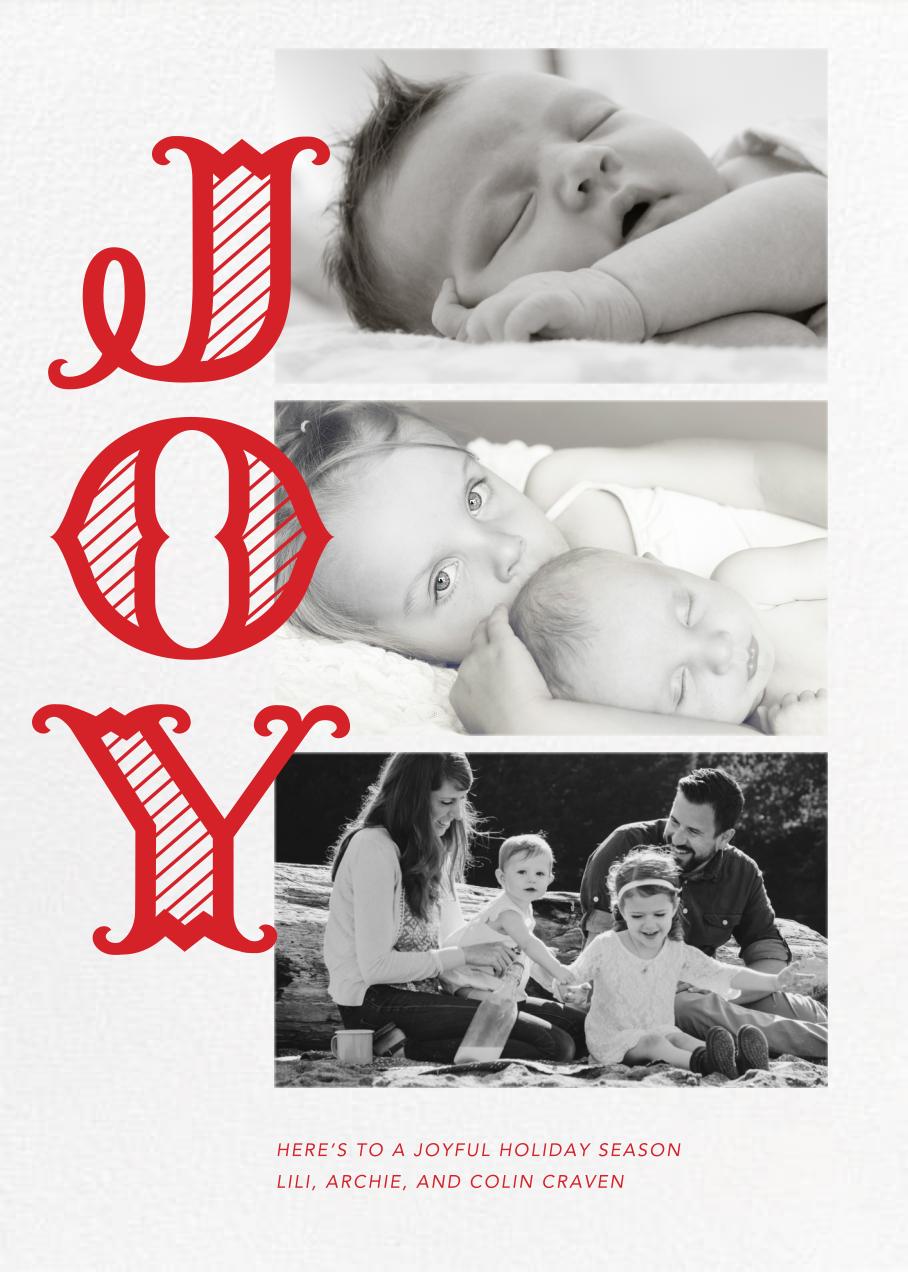 Joyful Stripes (Multi-Photo) - Paperless Post