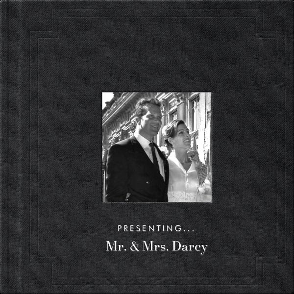 Magazine Photo Cover Album (Black) - Square - Paperless Post - Wedding