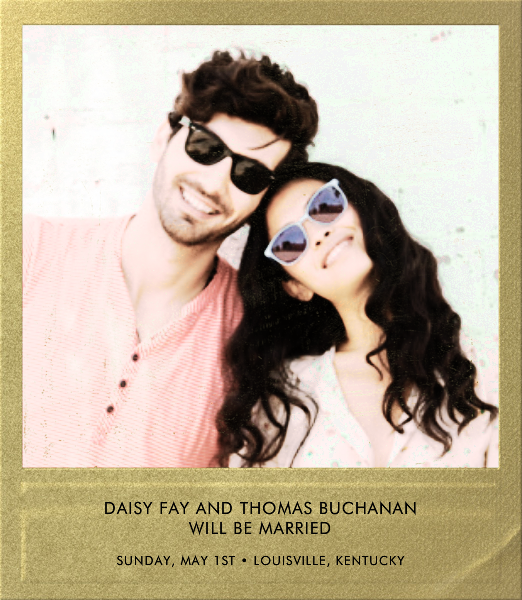 Snapshot Gold - Square - Paperless Post - Save the date