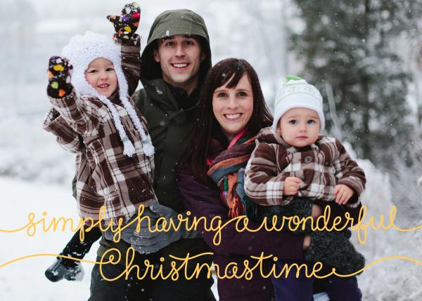 Wonderful Christmastime - Paperless Post - Christmas