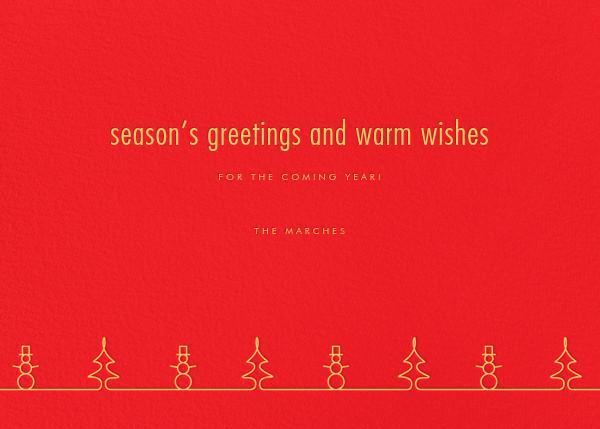 Wonderful Christmastime - Paperless Post - Christmas - card back
