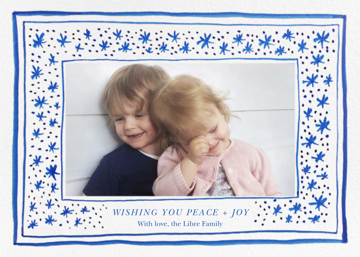 Starscape - Linda and Harriett - Holiday cards
