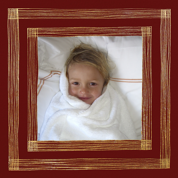 Precise (Photo) - Red/Gold - Kelly Wearstler - null